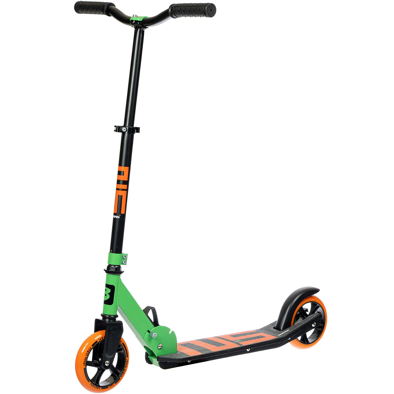 Купить Самокат детский Bondibon Nimbus, складной, колеса PU 145/145 мм, зеленый,