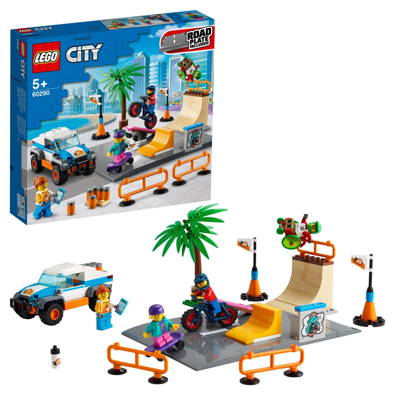 Купить Конструктор LEGO City Community 60290 Скейт-парк,