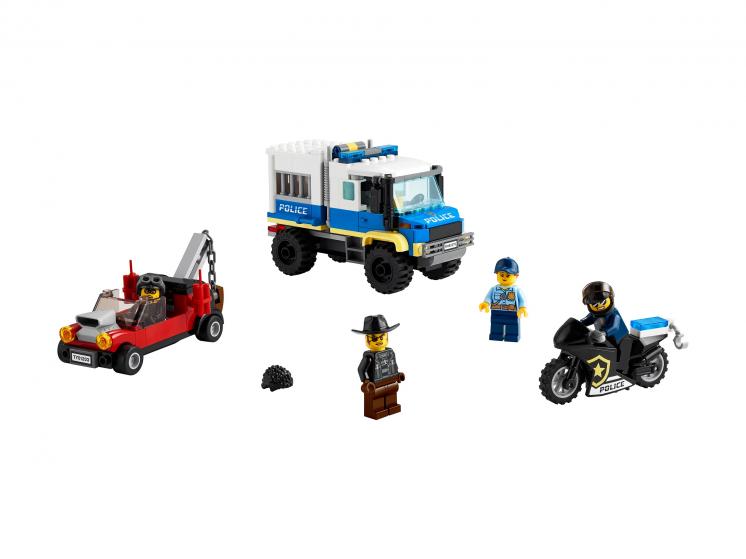 Купить Конструктор LEGO City Police 60276 Транспорт для перевозки преступников,