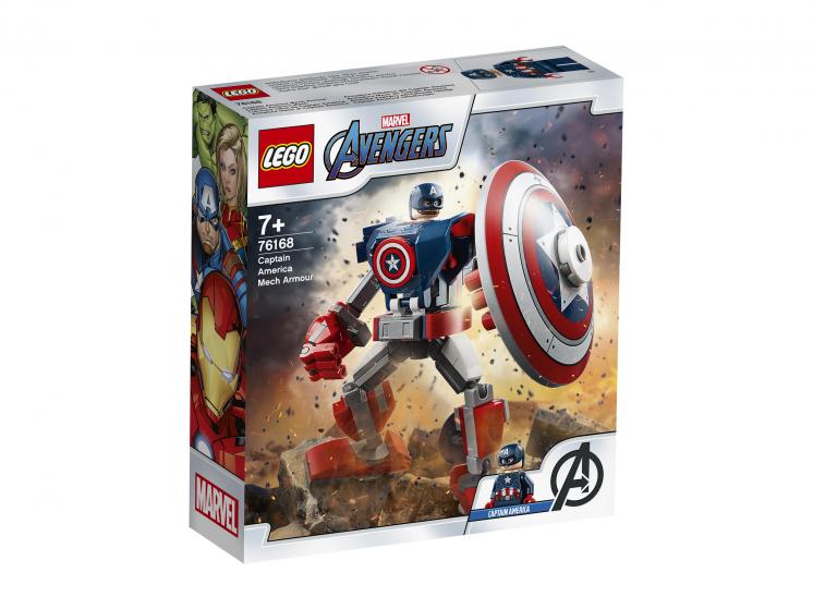 Купить Конструктор LEGO Marvel Avengers Movie 4 76168 Капитан Америка: Робот,