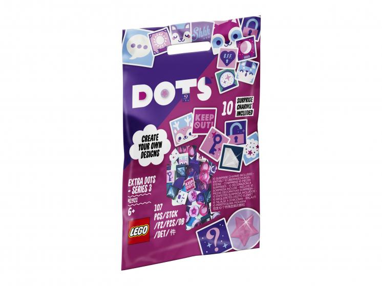 Купить Набор для творчества LEGO DOTS 41921 Тайлы DOTS — серия 3,