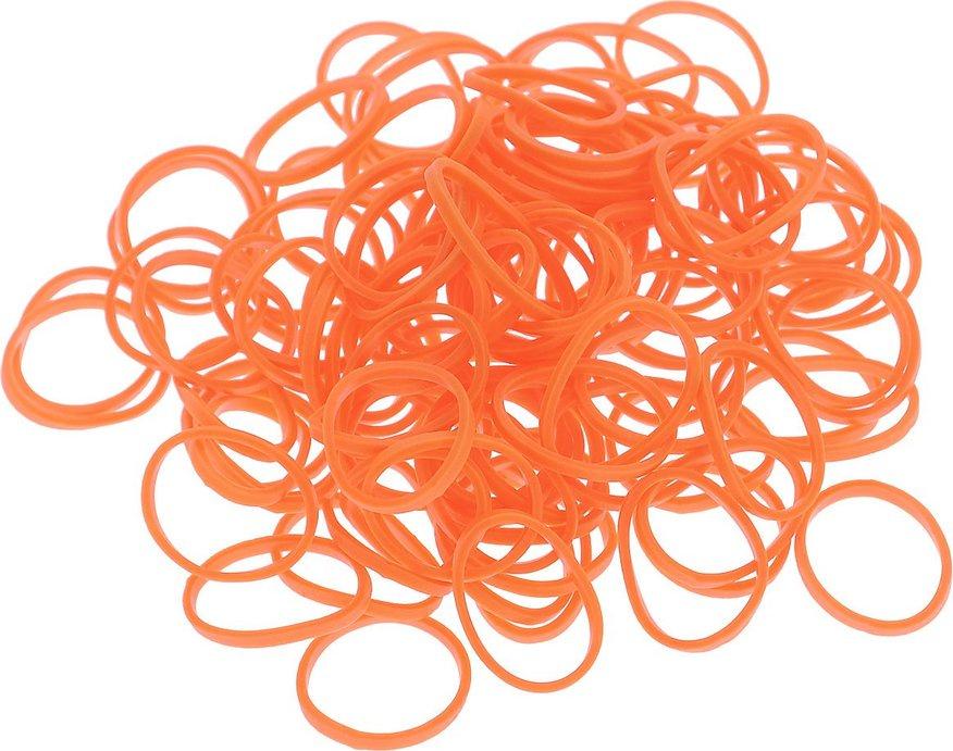 Купить Набор из резинок Rubber Band одноцветные (600 шт.), К-103-8, Темно-оранжевый,