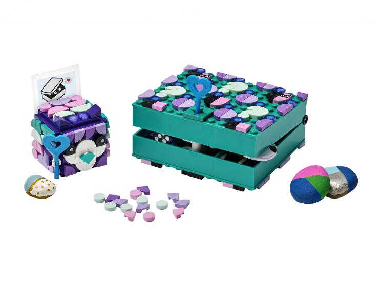Купить Набор для творчества LEGO DOTS 41925 Набор для хранения секретов,