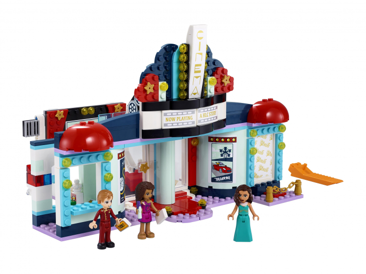 Купить Конструктор LEGO Friends 41448 Кинотеатр Хартлейк-Сити,