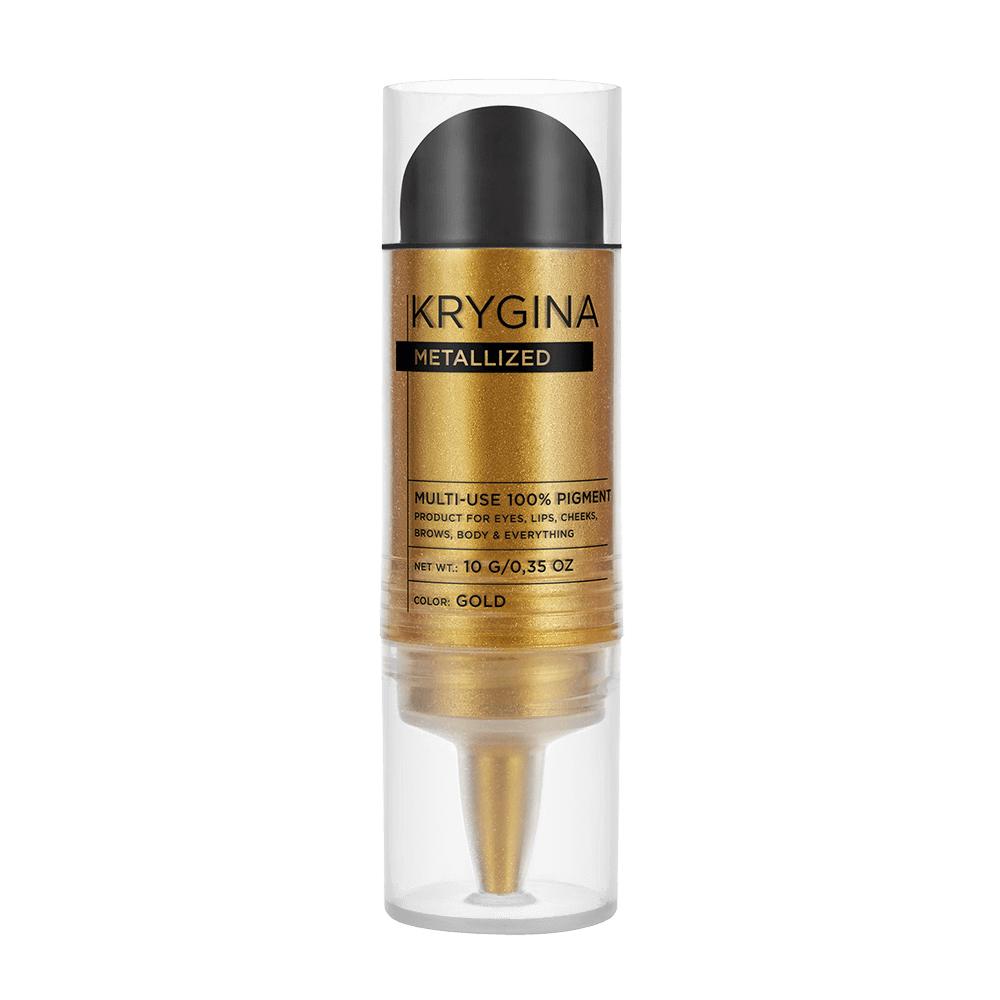 Сухой пигмент Krygina Cosmetics Metallized Gold