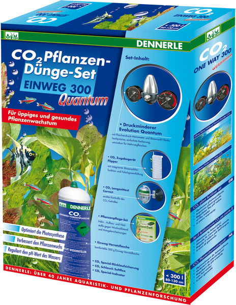 Система CO2 для аквариума Dennerle EINWEG