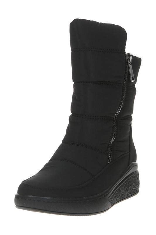 Дутики женские MADELLA XLN-92132-1A-TF черные 36 RU