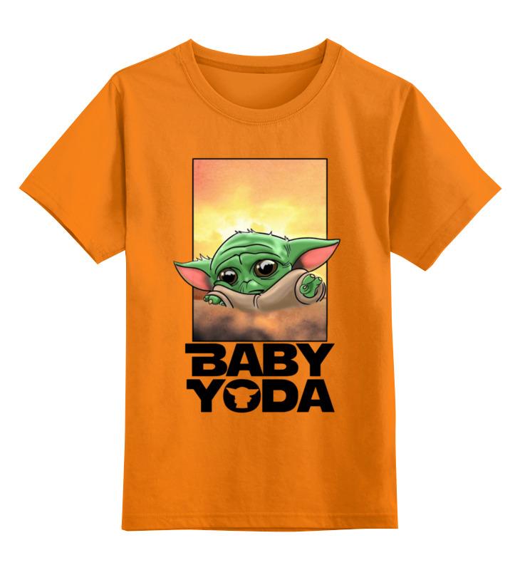 Купить 0000003126332, Детская футболка Printio Фэнтези цв.оранжевый р.152,