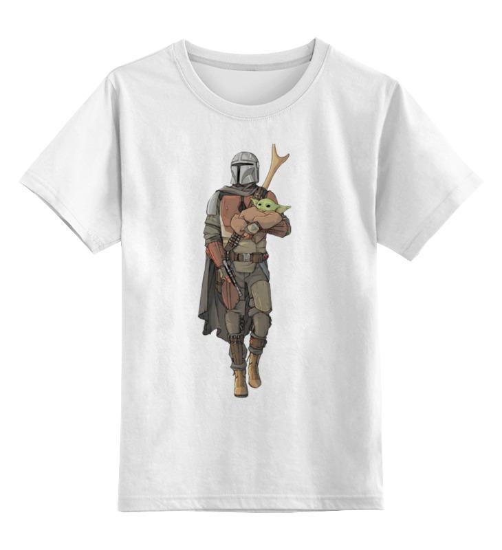 Купить 0000003126356, Детская футболка Printio Фэнтези цв.белый р.152,