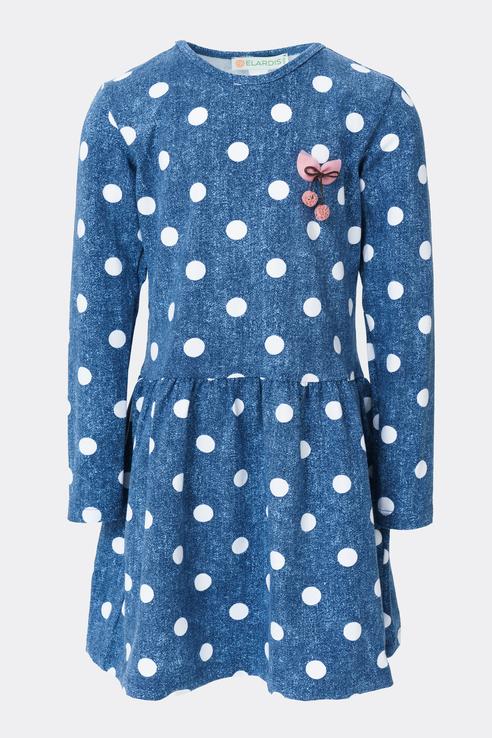 Купить El_K90039, Платье для девочек ELARDIS цв. синий р-р. 134,