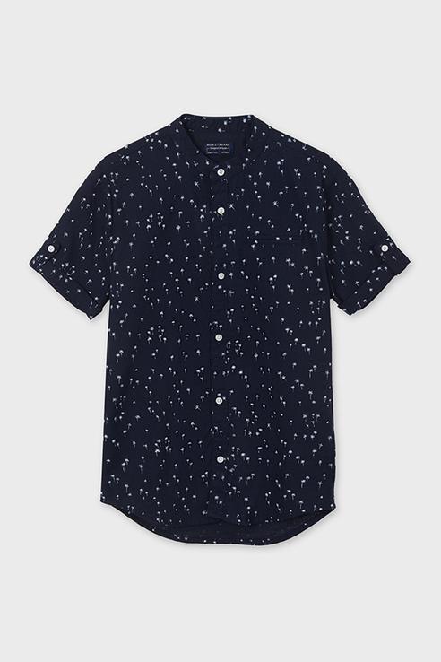 Рубашка для мальчиков Nukutavake by Mayoral цв. синий р-р. 166