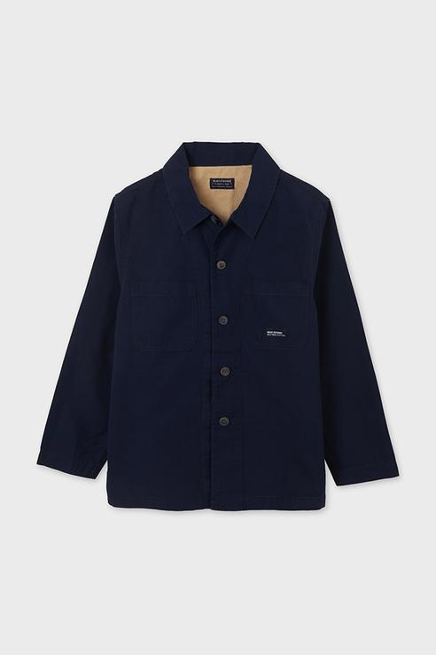 Рубашка для мальчиков Nukutavake by Mayoral цв. синий р-р. 140