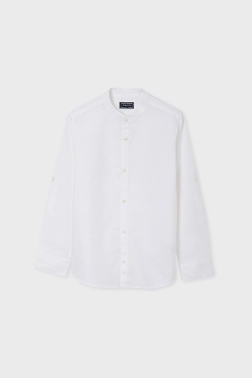 Рубашка для мальчиков Nukutavake by Mayoral цв. белый р-р. 140
