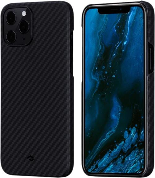 Чехол Pitaka MagEZ (KI1201PM) для iPhone 12 Pro Max (Black/Grey) MagEZ для iPhone 12 Pro Max