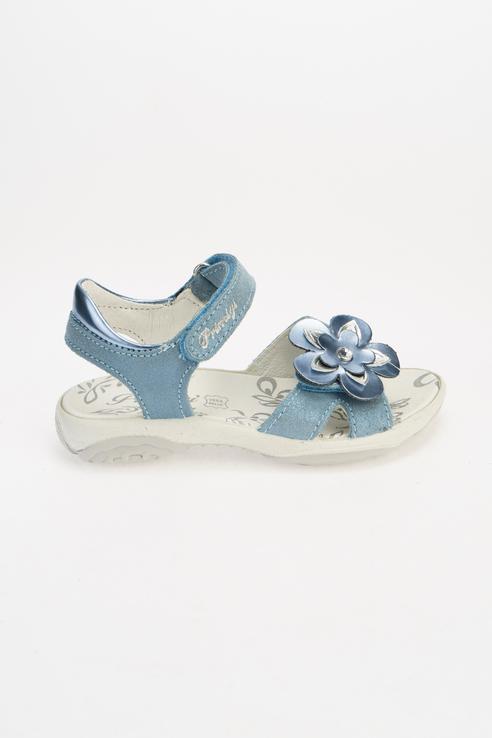 Купить 7391444, Сандалии для девочек PRIMIGI цв. голубой р-р. 34,