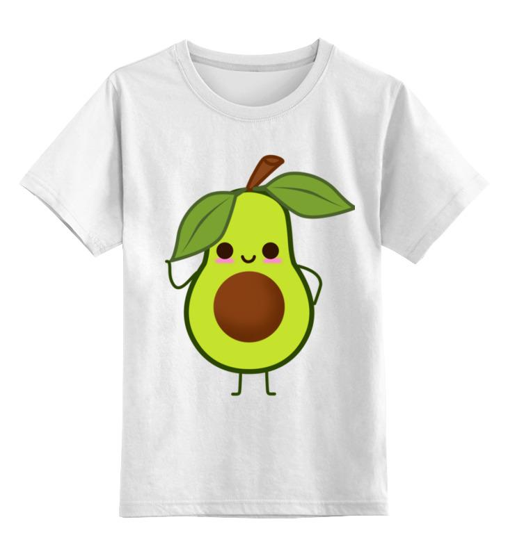 Детская футболка Printio Авокадо цв.белый р.140 0000003318242 по цене 790