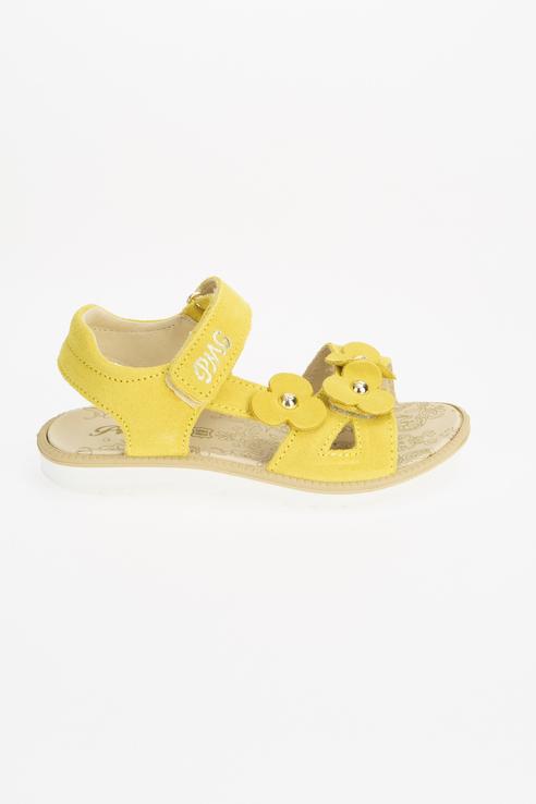 Купить 7392533, Сандалии для девочек PRIMIGI цв. желтый р-р. 31,