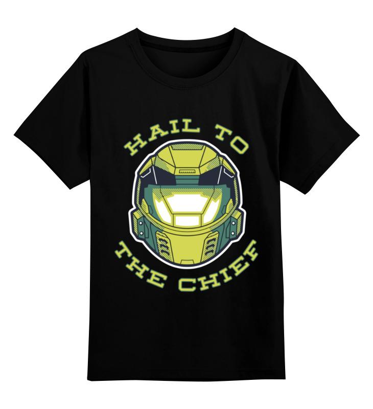 Детская футболка Printio Хало halo цв.черный р.140 0000003362127 по цене 990