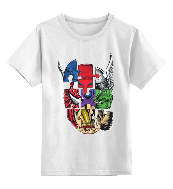 Купить 0000000657602, Детская футболка классическая Printio, р. 104,