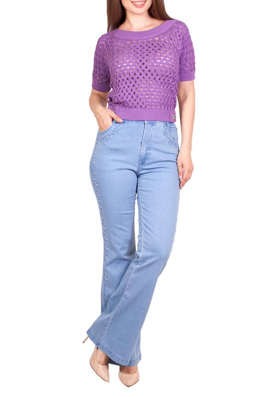 Джинсы женские LAFEI-NIER DP278R голубые 34