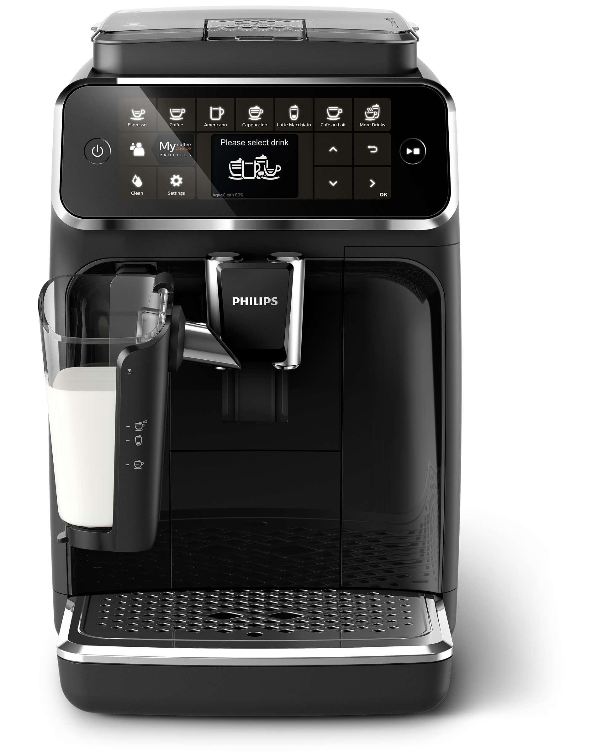 Кофемашина автоматическая Philips EP4341/50 Black