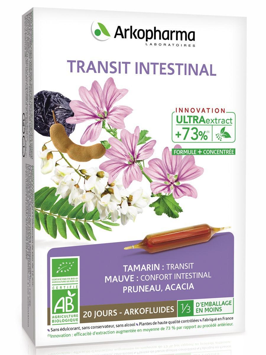 Нормализации работы кишечника Arkopharma Transit Intestinal