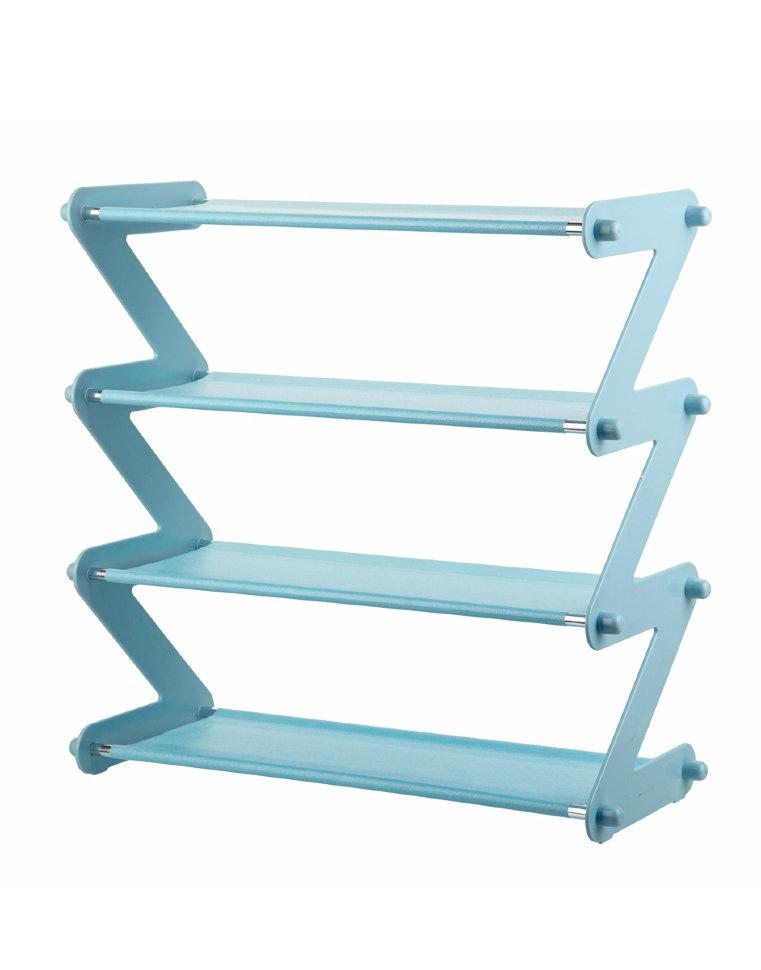 Полка для обуви Litzen Rack, голубой