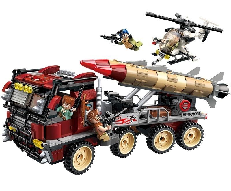 Купить Конструктор Enlighten Brick (Qman) Военная техника, с фигурками, 651 деталь,