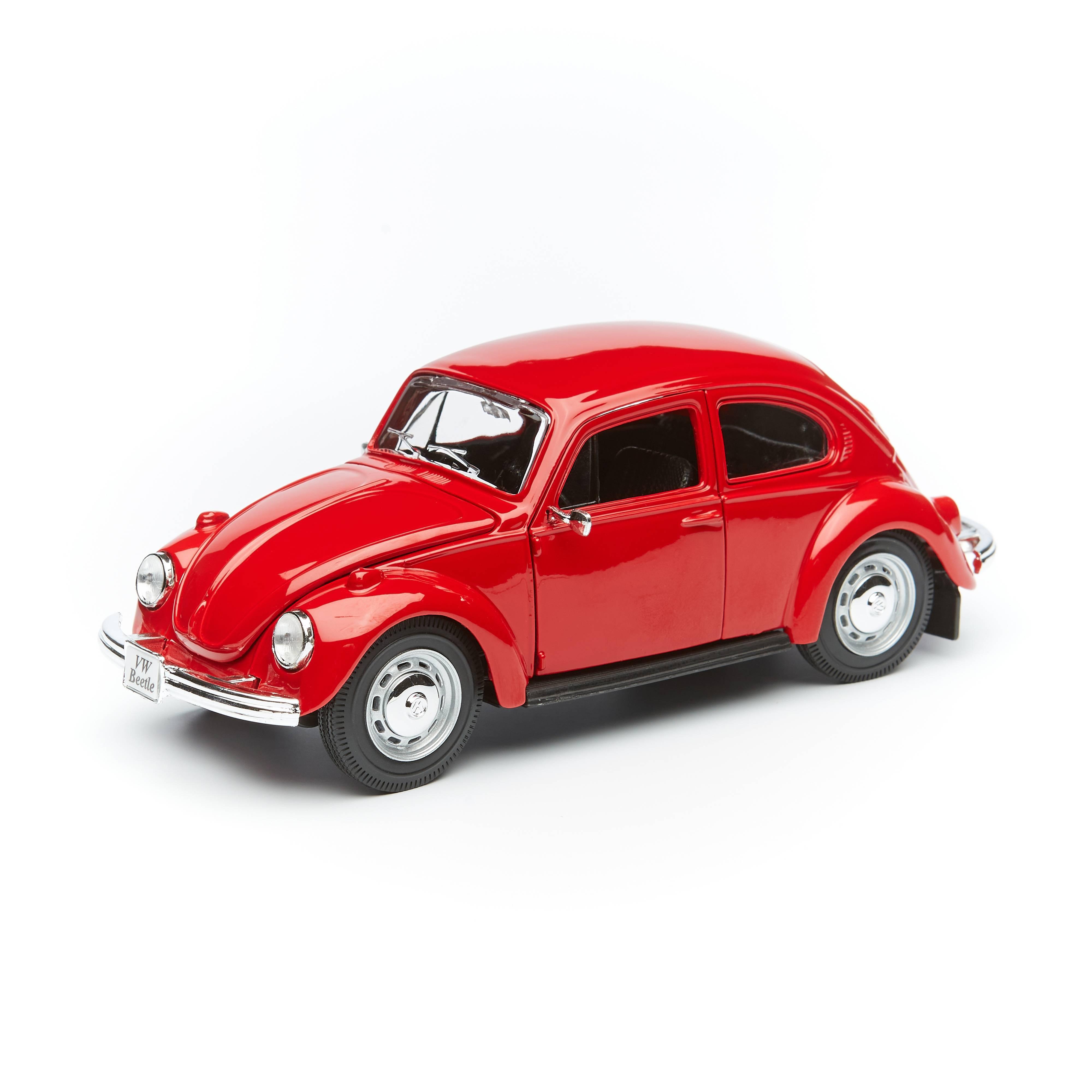 Купить Maisto Машинка Volkswagen Beetle, 1:24 красная 31926,