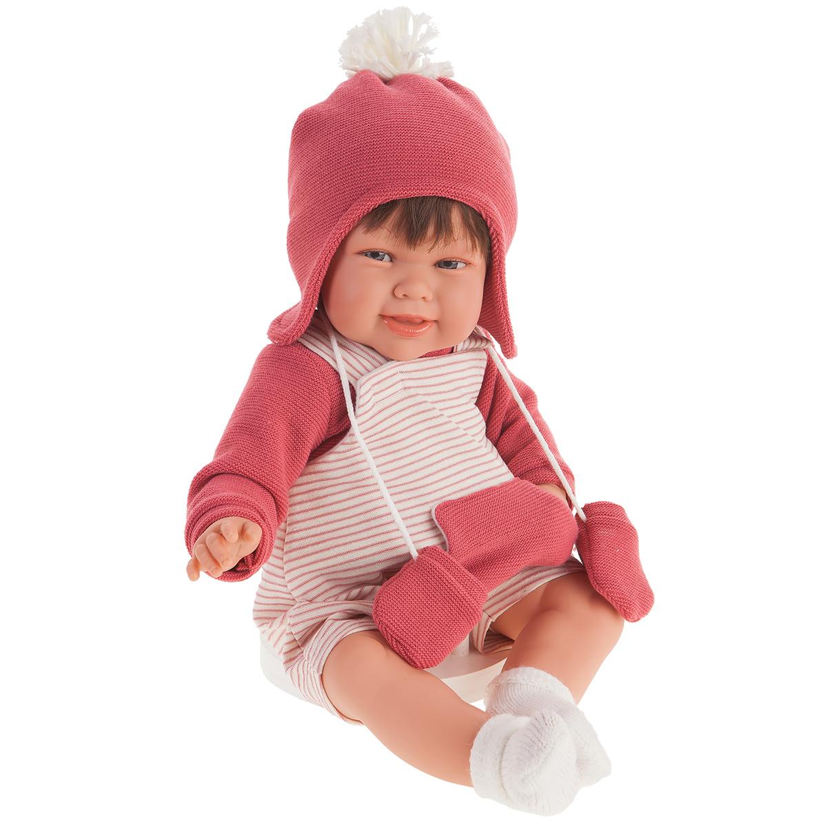 Купить 2006 Кукла Кристина в коралловом озвученная (мама, папа, смех), 52 см, Antonio Juan,
