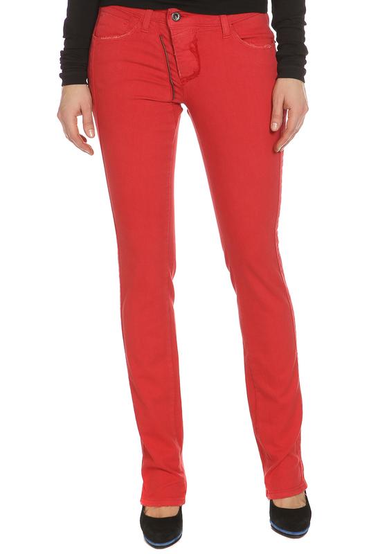 Джинсы женские C'N'C VN8009 36551 красные 26