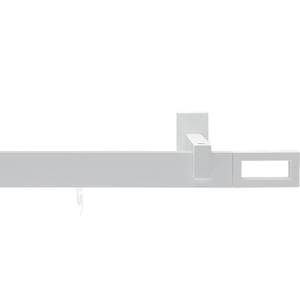 Карниз Arttex однорядный Хай тек Белый