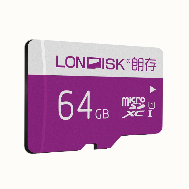 Карта памяти LONDISK EXTREME 64GB microSDXC
