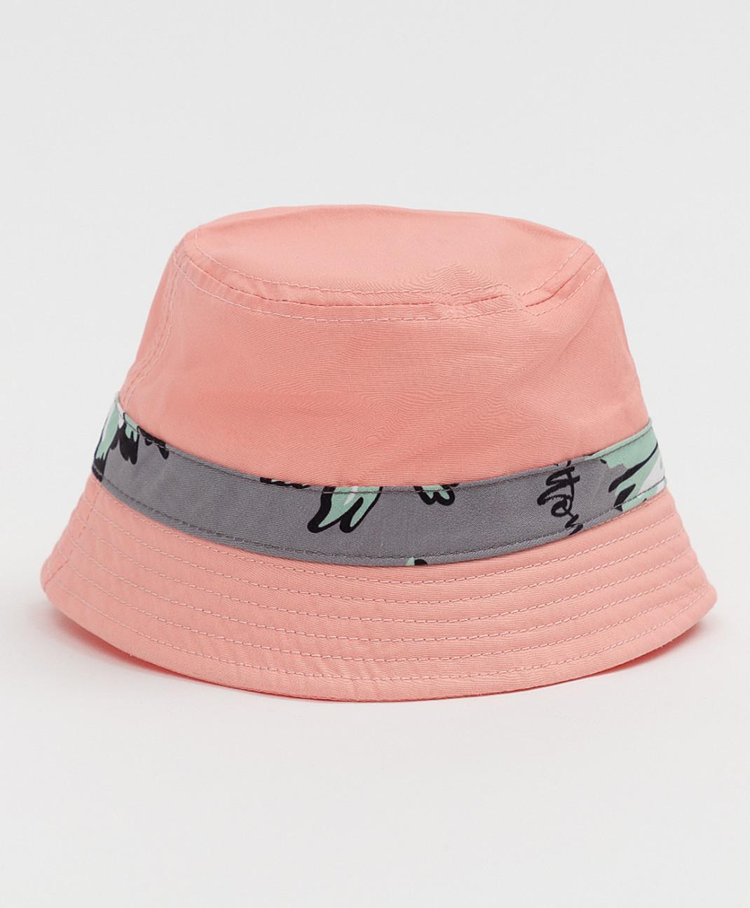 Купить Детская панама Button Blue розовая121BBGMX70011200 размер 50,