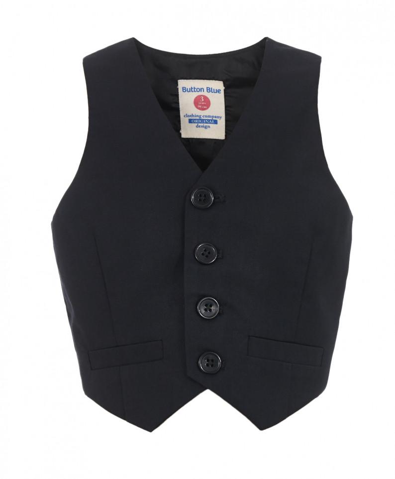 Жилет Button Blue черный 217BBBP47010800 размер 146