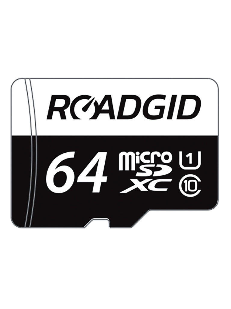 Карта памяти Roadgid Micro SDXC DVR