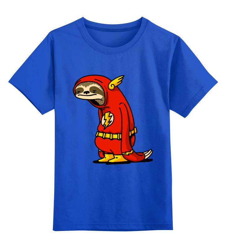 Детская футболка Printio Самый быстрый! цв.синий р.128 0000003374879 по цене 990