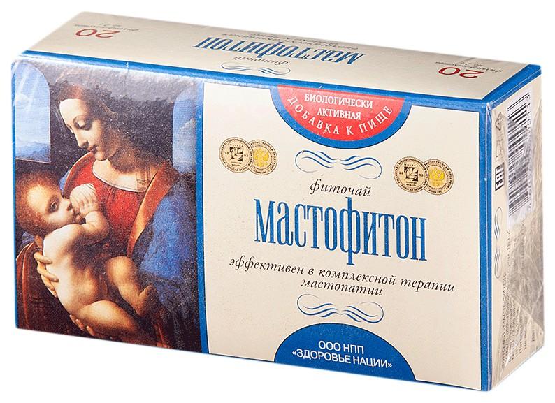 Фиточай Мастофитон фильтр-пак 2 г N20