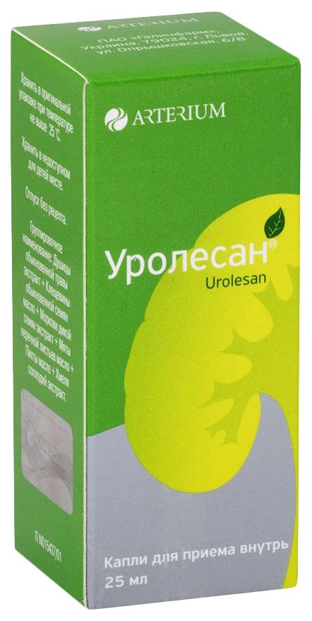 Купить Уролесан капли для приема внутрь флакон 25 мл №1, Balkan Pharmaceuticals
