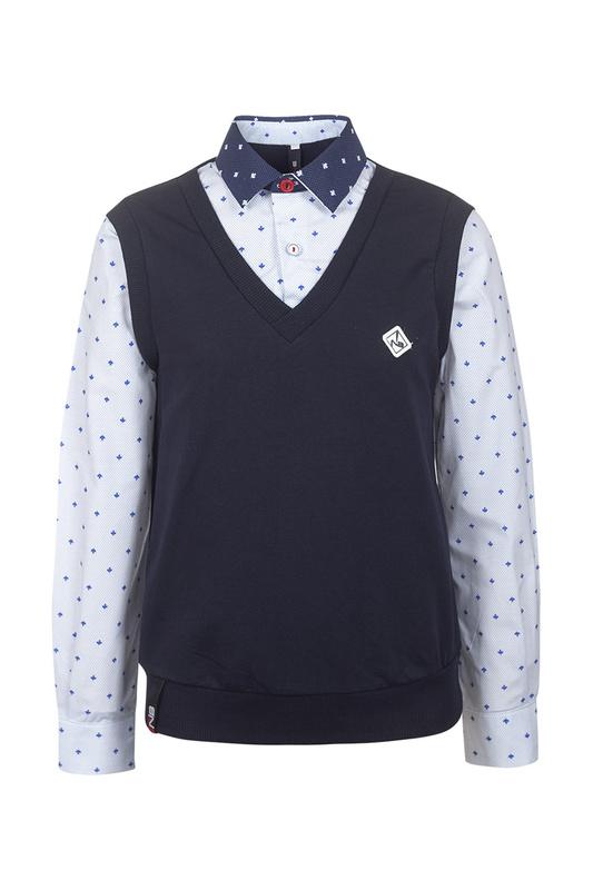 Рубашка-обманка NOTA BENE 192140701Г-29 р.122