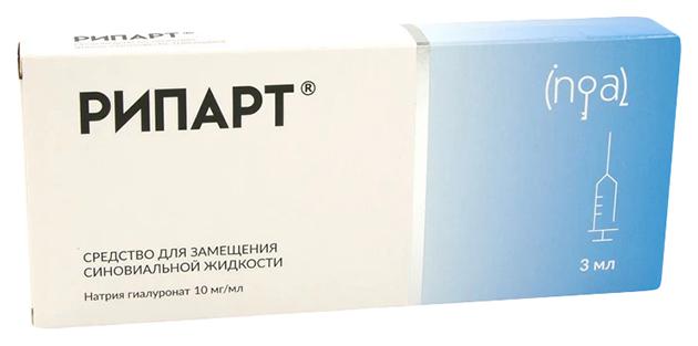 Купить Рипарт средство для замещения синовиальной жидкости 10 мг/мл шприц 3 мл №1, Ингал