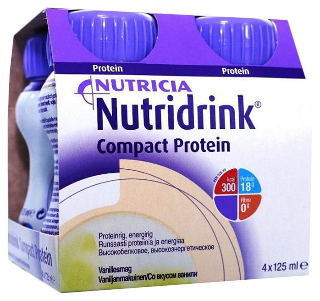 Смесь жидкая Nutricia Нутридринк Compact Protein ваниль
