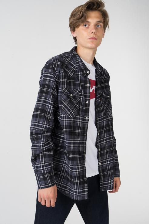 Рубашка мужская Levi's 6581602870 черная 48