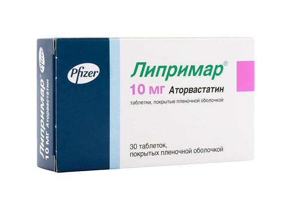 Липримар таблетки, покрытые пленочной оболочкой 10 мг №30