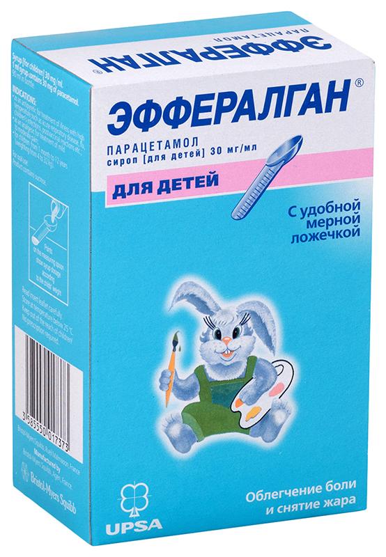 Эффералган сироп 30 мг/мл флакон 90