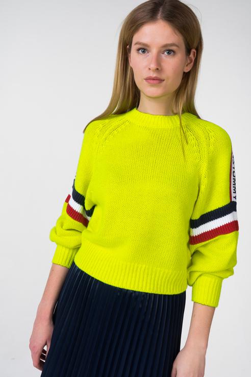 Джемпер женский Tommy Jeans DW0DW05560 желтый L