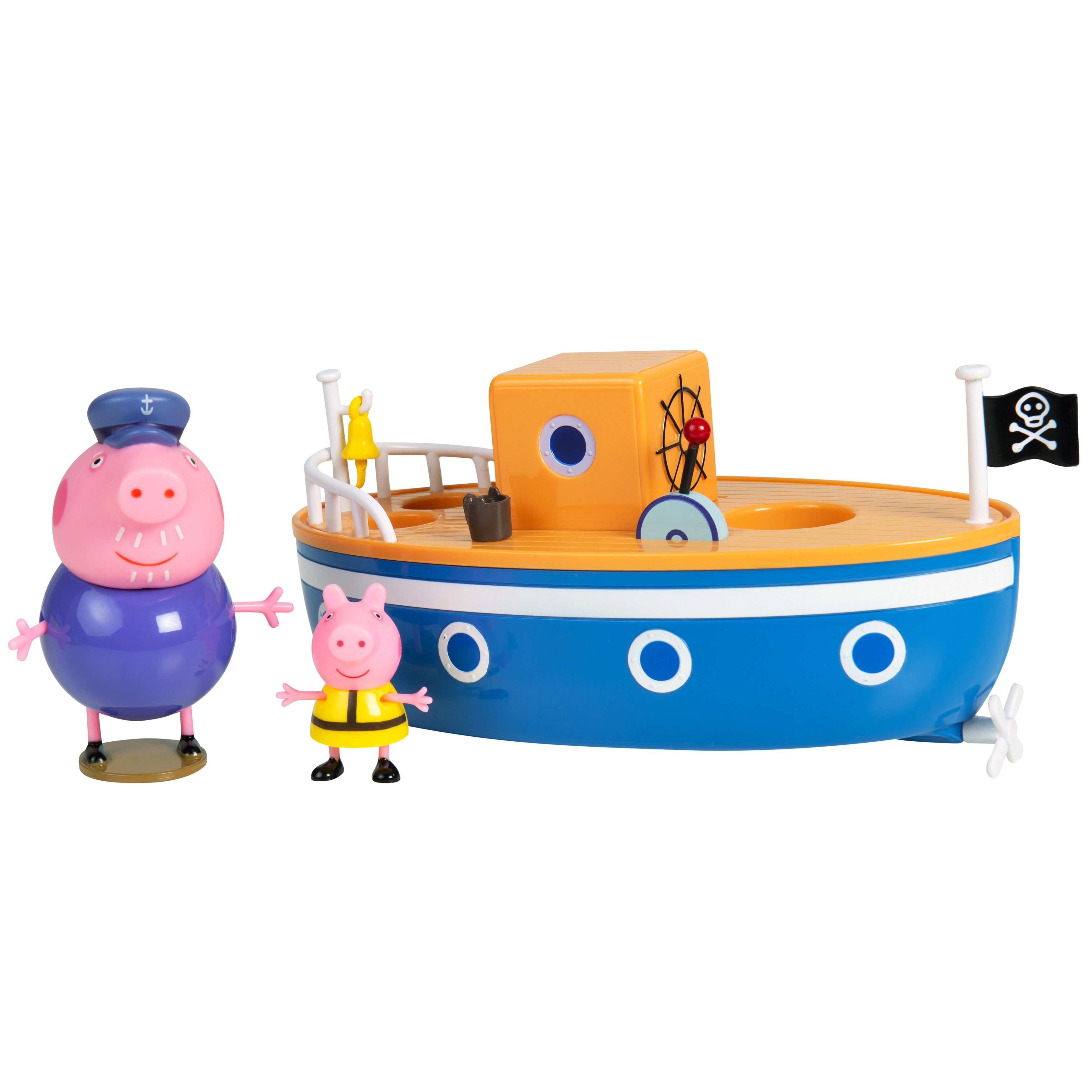 Купить Игровой набор Peppa Pig для ванны Корабль дедушки Пеппы,