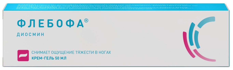 Флебофа крем-гель для наружн.прим.туба 50 г №1
