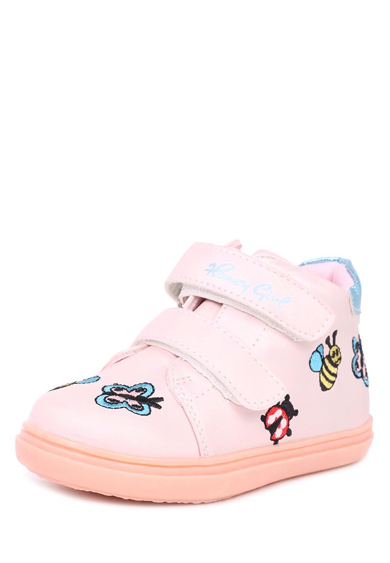 Купить JSD19S-01, Ботинки детские Honey Girl, цв.розовый р.23,