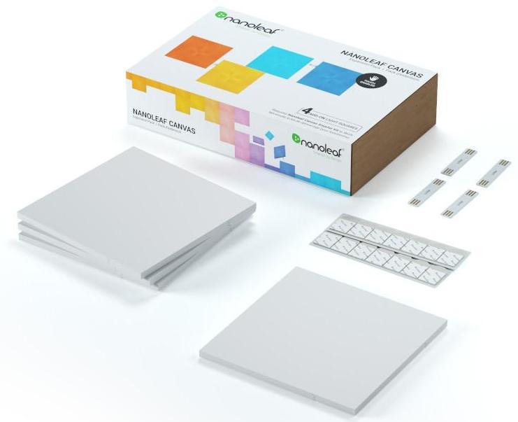 Комплект умных ламп Nanoleaf Canvas Expansion Pack
